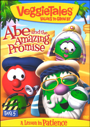 Abe and the Amazing Promise, VeggieTales DVD   -