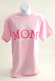 Blessed To Be Mom Shirt, Pink Large (42-44)   -