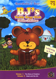 BJ's Teddy Bear Club and Bible Stories, Volume 1 (The Story of  Creation) and Volume 2 (Noah and the Ark) on DVD  -