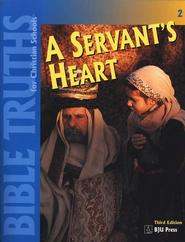 BJU Bible Truths 2: A Servant's Heart, Student Worktext   -