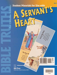 Bible Truths 2: A Servant's Heart, Student Materials Packet   -