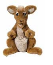 Pockets the Kangaroo, puppet  -
