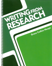 BJU Writing from Research, Grades 7-12        -              By: Hargis