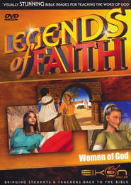 Legends of the Faith: Women of God  -     By: Eikon Bible Art