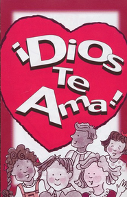 ¡Dios Te Ama! Paq. de 25 Tratados  (God Loves You! Pack of 25 Tracts)  -