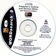 WORDsearch 9 Preacher's Outline & Sermon Bible Library, Partial Old Testament (29 books) on CD-ROM  -