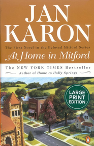 At Home in Mitford (large-print edition) - Slightly Imperfect  -