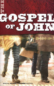 The Gospel of John, NIV, Special Alpha Course Edition  1984  -              By: Nicky Gumbel