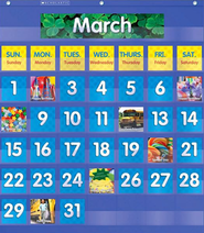 Monthly Calendar Pocket Chart  -