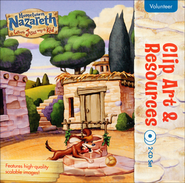 Hometown Nazareth Clip Art & Resources 2-CD Set  -