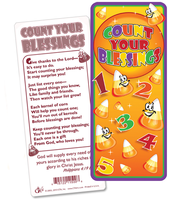 Count Your Blessings Jumbo Bookmark  -