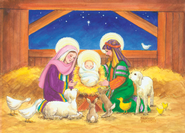 In The Manger Boxed Christmas Cards  -