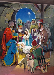 Savior's Light Advent Calendar with envelope  -