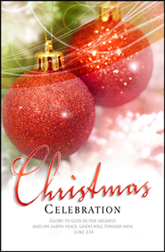 Christmas Celebration (Luke 2:14) Bulletins, 100  -