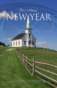 Blessed New Year (Jeremiah 29:11) Bulletins, 100  -