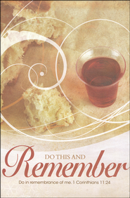 Do In Remembrance (1 Corinthians 11:24) Bulletins, 100  -