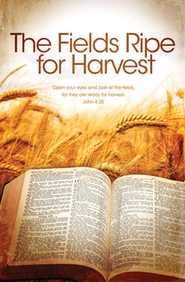 Ripe for Harvest (John 4:35, HCSB) Bulletins, 100  -