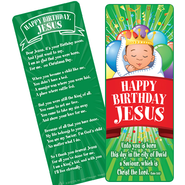 Happy Birthday Jesus Bookmark  -