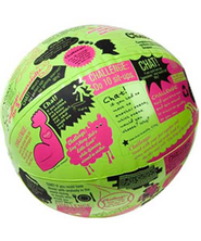 Throw & Tell Chat or Challenge Ball   -