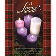 Love (John 3:16) Large Advent Bulletins, 100  -