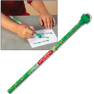 Happy Birthday Jesus Pencil with Rolling Stamp  -