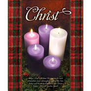 Christ (Matthew 1:23) Large Advent/Christmas Bulletins, 100  -