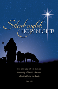 Silent Night, Holy Night (Luke 2:11) Bulletins, 100  -