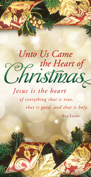 The Heart of Christmas (Roy Lessin) Offering Envelopes, 100  -