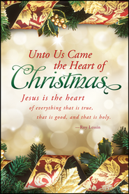 The Heart of Christmas (Roy Lessin) Bulletins, 100  -