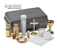 Portable Altar Traveling Communion Set   -