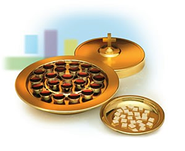 Brasstone Small Group Communion, Tray Cover Only    -
