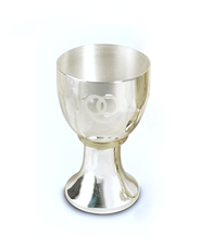Silver-Plated Wedding Chalice   -