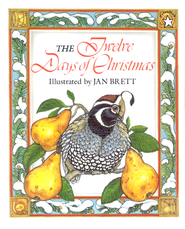 The Twelve Days Of Christmas  -     By: Jan Brett     Illustrated By: Jan Brett
