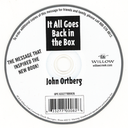 It All Goes Back in the Box  -     By: John Ortberg