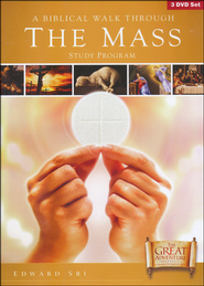 A Biblical Walk Through The Mass 3 DVD Set  -              By: Edward Sri