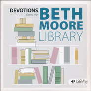 Devotions from the Beth Moore Library Audio CD  -              By: Beth Moore