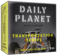Daily Planet in the Classroom: Transportation DVD Super Pack  -