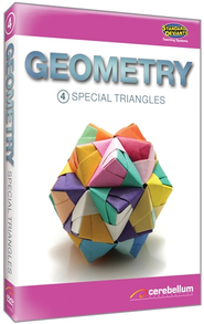 Geometry Module 4: Special Triangles DVD & CDROM  -