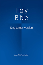 KJV Large Print Text Bible, Hardcover   -     By: Bible
