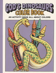 God's Dinosaurs Color Book   -     By: Earl Snellenbreger, Bonita Snellenbreger