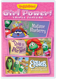 Girl Power! Triple Feature, DVD   -