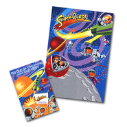 SpaceQuest Promotional Posters And Window Signs Set  -