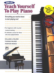 Teach Yourself to Play Piano, Book & Compact Disc   -              By: Willard Palmer