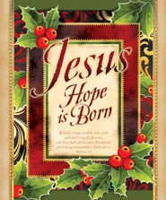 Jesus--Hope is Born (Matthew 1:23) Large Bulletins, 100  -