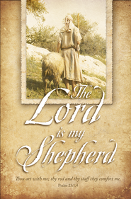 Lord is My Shepherd (Psalm 23:1-4) Bulletins, 100  -