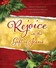 Rejoice (Luke 2:10) Large Bulletins, 100  -