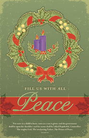 Advent Peace, Bulletins, 100  -