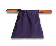 Large Velvet Offering Bag (Purple)  -