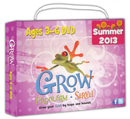One Room Sunday School DVD - Summer 2013, Ages 3-6   -