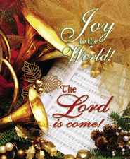 Joy to the World the Lord is Come, Large Christmas Bulletins, 100  -